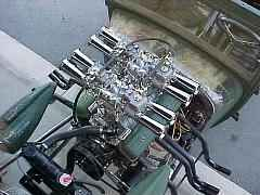 Authentic Weber Carbs Manifolds Conversion Kits