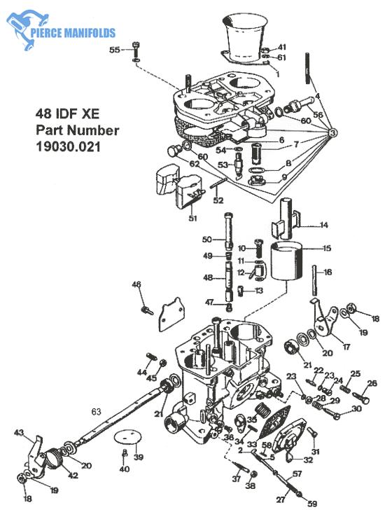 Throttle Spindle Shaft Return Spring for WEBER 40 IDA
